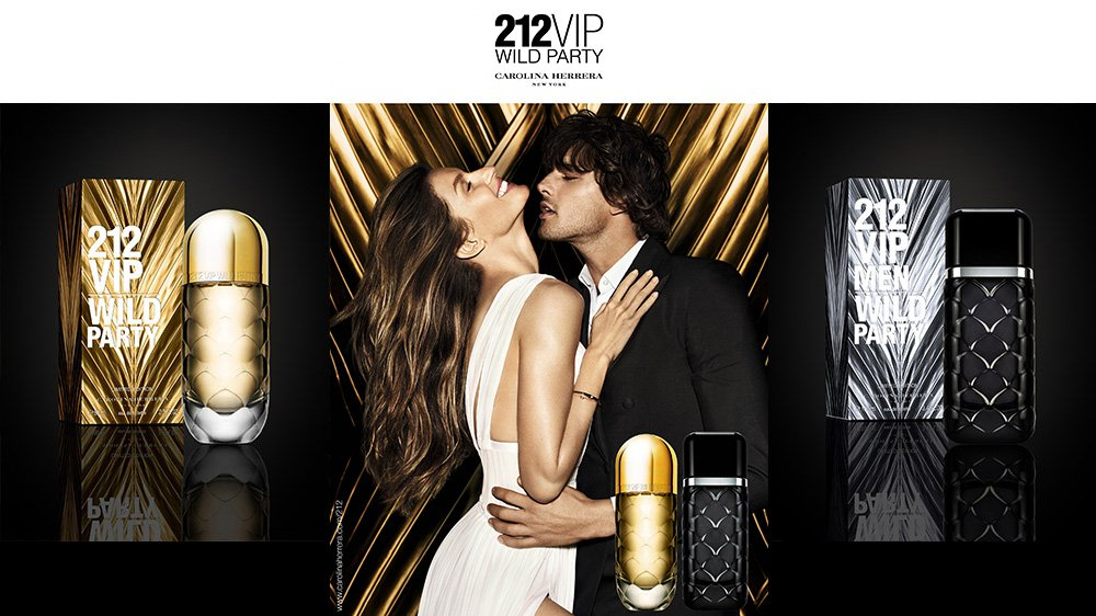 Carolina Herrera New York lanza 212 VIP Wild Party